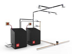 Fire sprinkler system for residential properties